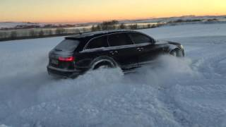 AUDİ RS6 SNOW DRİFT