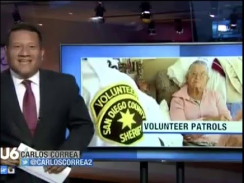 Senior Volunteers & Vacation Checks - San Diego County Sheriff's Department