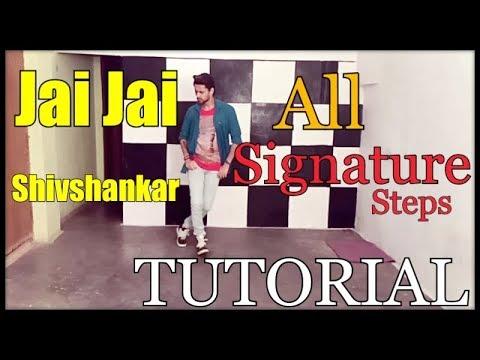Jai Jai Shivshankar Dance Tutorial  All Signature Steps  Hrithik  Tiger  War  Sanju Prajapati