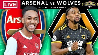 ARSENAL vs WOLVES - LIVE STREAMING - Premier League - Live Football Watchalong
