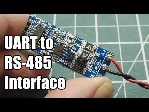 UART To RS-485 Interface  / Pro Mini