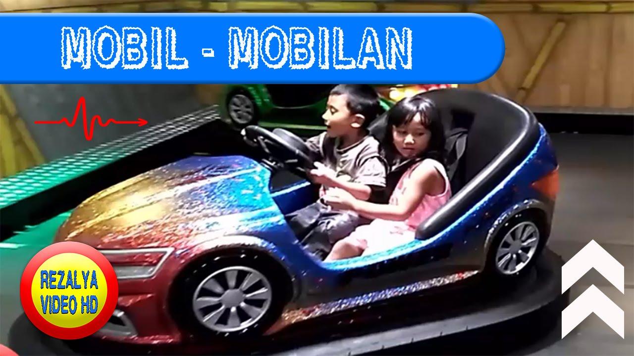 Mainan Anak Anak Reza Alya Nyetir Mobil Mobilan Youtube