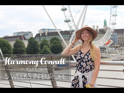 5 Weeks in Europe | Harmony Connell