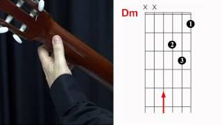 Acordes de Guitarra - Enlace de acordes Dm - G7