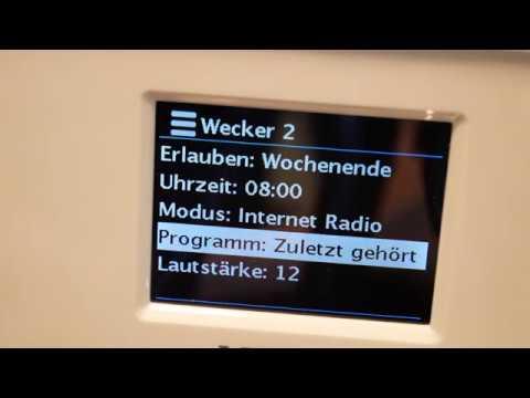 Medion Life E85052 WLAN Internet Radio (3/3) Favoriten & Wecker | Musik Sound Unterhaltung