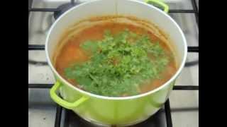 עודד מבשל   מרק עדשים ויוגורט