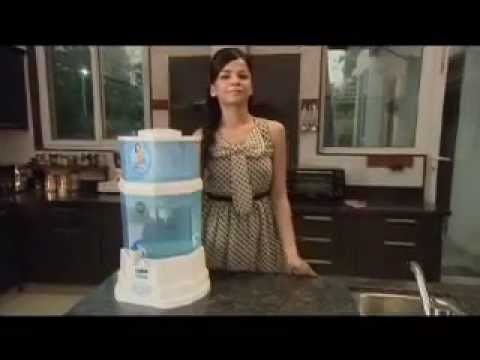 Non Electric Water Purifier: Gravity Based Water Purification | Kent Gold Demo Video - English