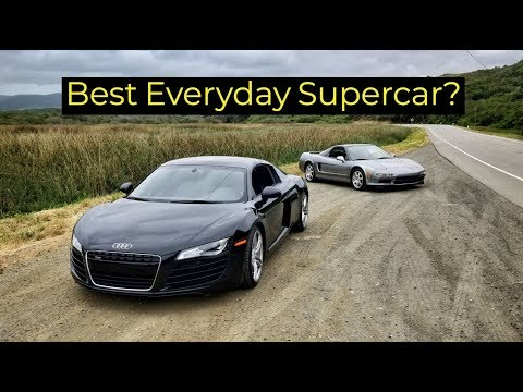 2008 Audi R8 vs 1999 Acura NSX - Head to Head Review!