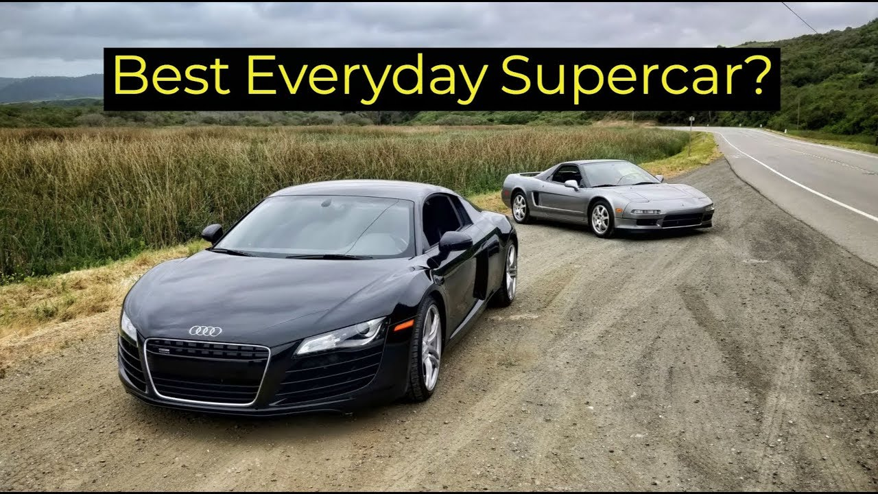 2008 audi r8 vs 1999 acura nsx head to head review youtube. Black Bedroom Furniture Sets. Home Design Ideas