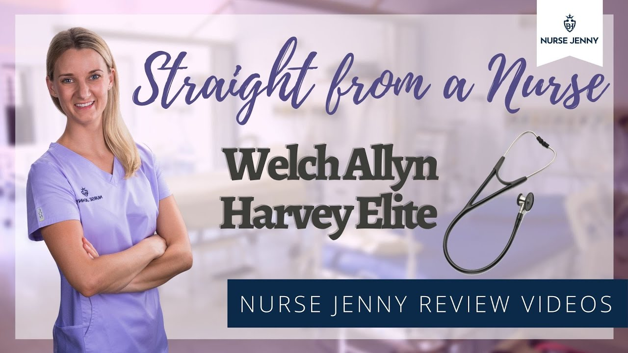 Welch Allyn Harvey Elite Cardiology Stethoscope Review #cardiology