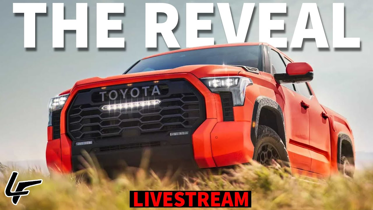 Download The All-New 2022 Toyota Tundra FULL DETAILS Livestream - Feat. David Chao