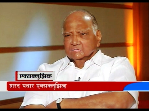 Sharad Pawar Exclusive Interview By Mandar Phanse