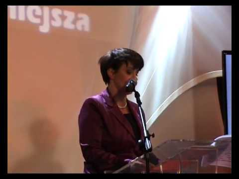 Joanna Kluzik Rostkowska podczas konwecji PJN