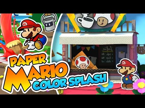 Avalancha de cartón!  - #02 - Paper Mario Color Splash (Wii U) en Español