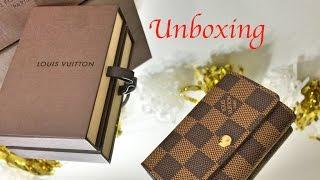 Unboxing | Louis Vuitton 6 Key Holder