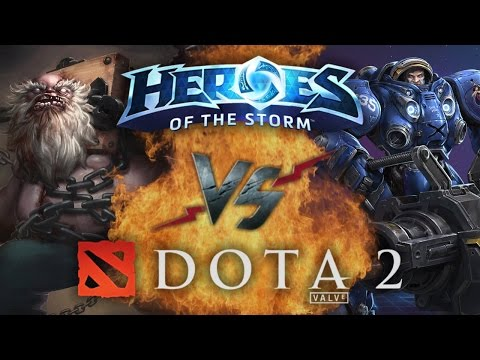 видео: Рэп Баттл - heroes of the storm vs. dota 2