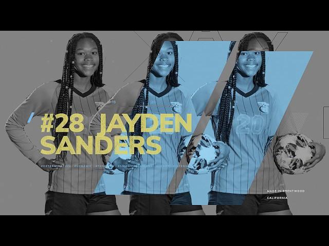 Jayden Sander's Soccer Highlight Reel 2020