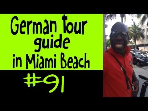 German Tour guide in Miami Beach