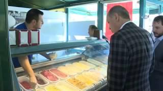 Cumhurbaşkanı Erdoğan, Torununa Dondurma Aldı