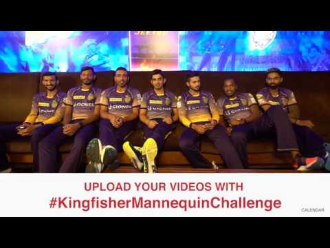 Thumbnail: #KingfisherMannequinChallenge with Kolkata Knight Riders