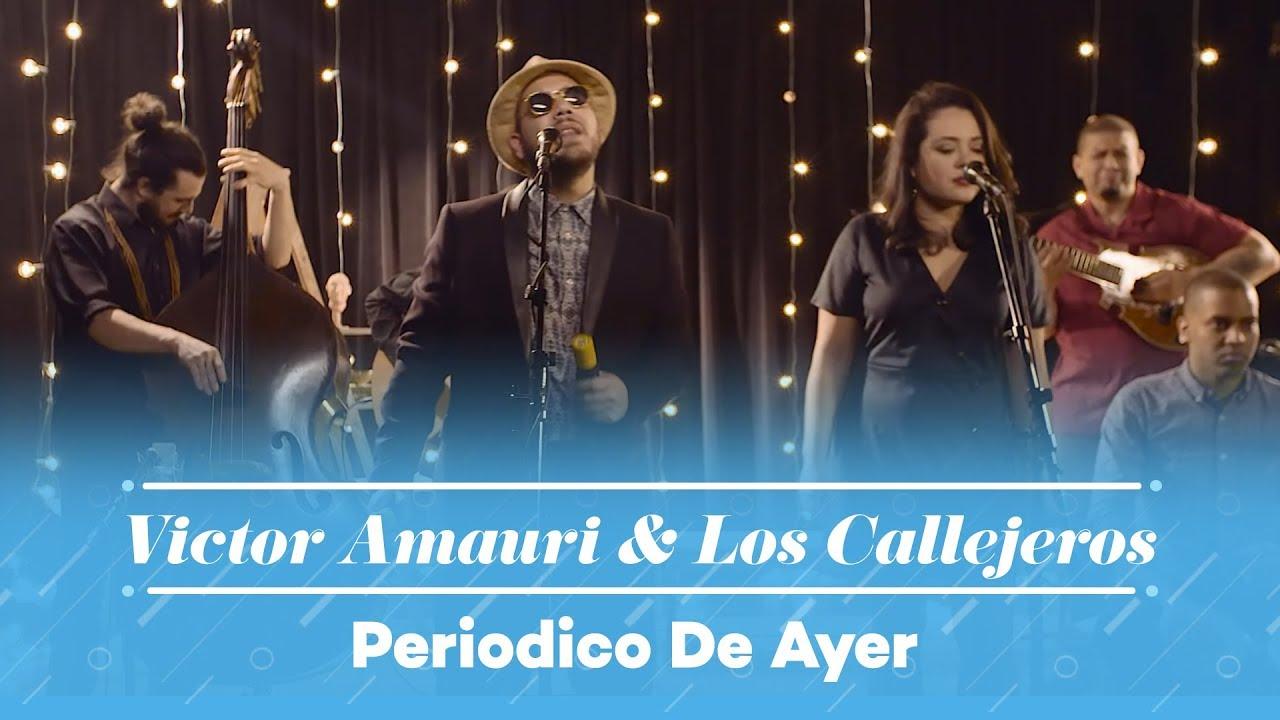 8ab04cc605 Hector Lavoe - Periodico De Ayer (Victor Amauri Balaguer & Los Callejeros  Cover)