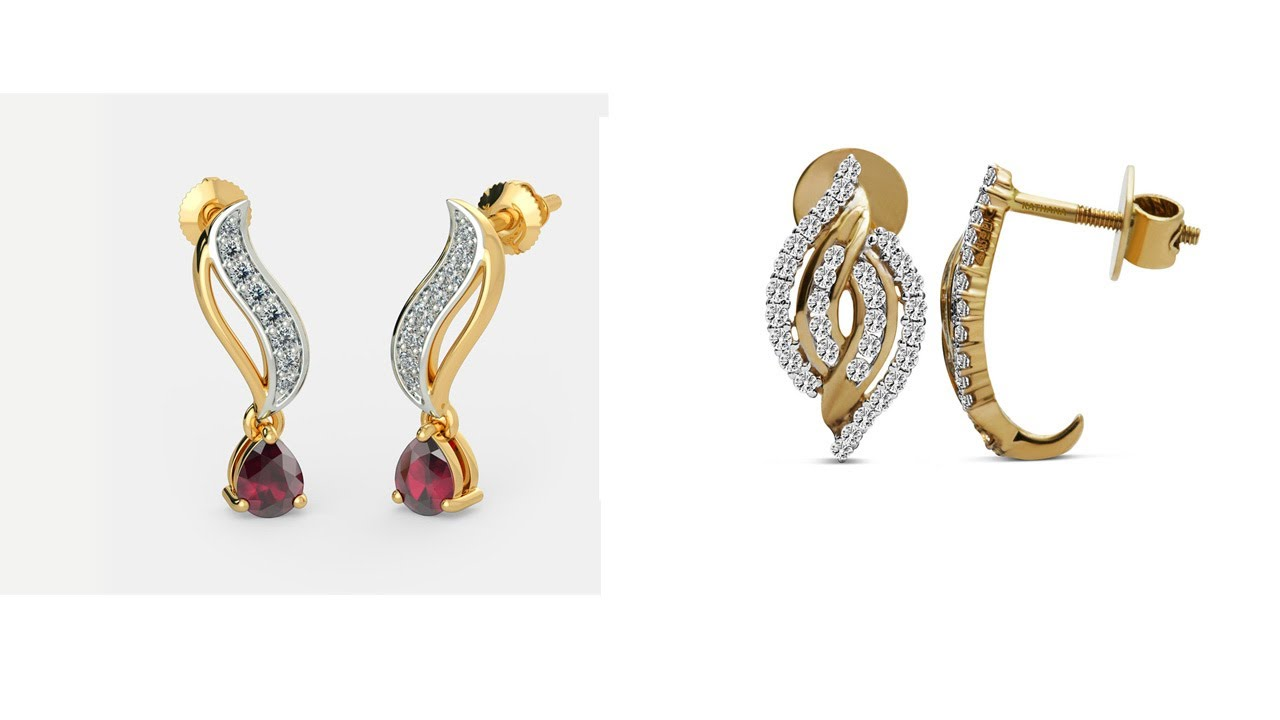 Latest Gold Earrings Designs 2017 Today Fashion Indian Jewellery 2017si