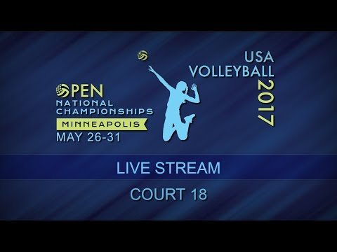 2017 Opens Friday, May 26 - Court 18