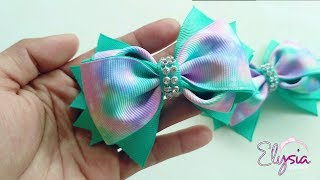 Ribbon Bow Tutorial 1 | DIY by Elysia Handmade