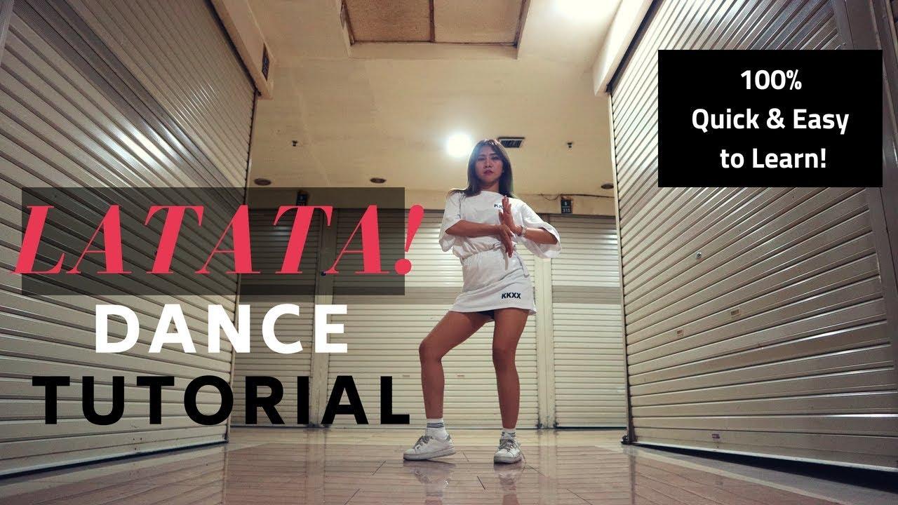 [MIRRORED] (G)I-DLE ((여자)아이들)_LATATA DANCE TUTORIAL