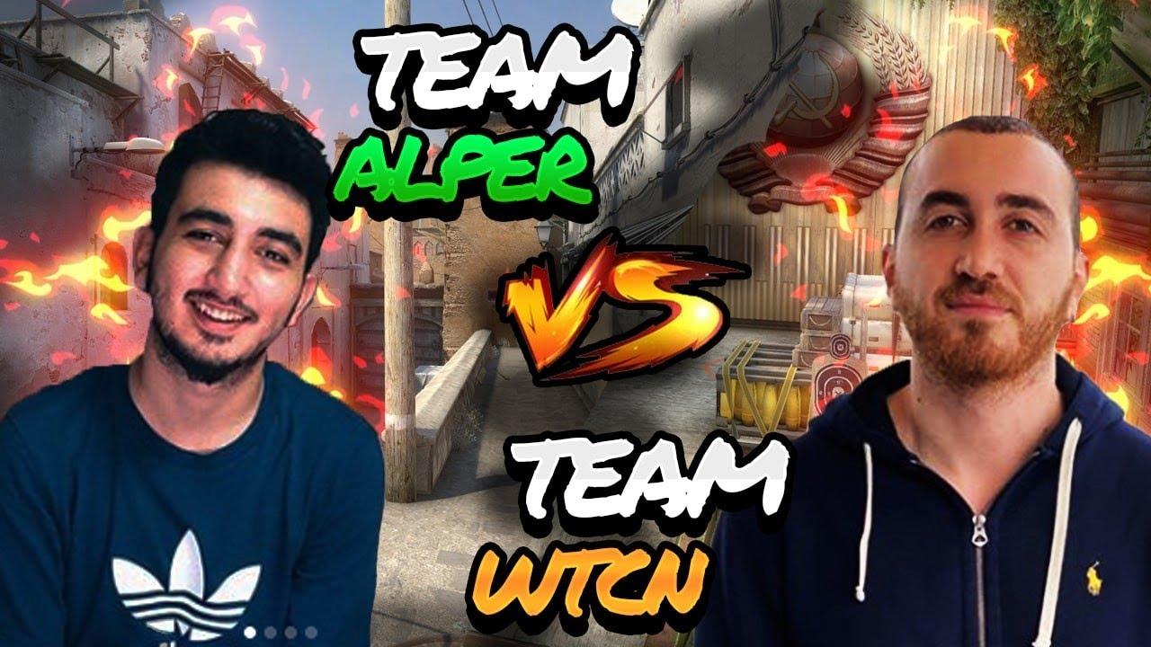Team wtcN vs Team Alper Biçen | Cs:Go 5v5 thumbnail