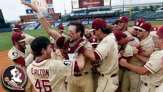 Florida State Wins ACC Baseball Championship: 30-Second Recap