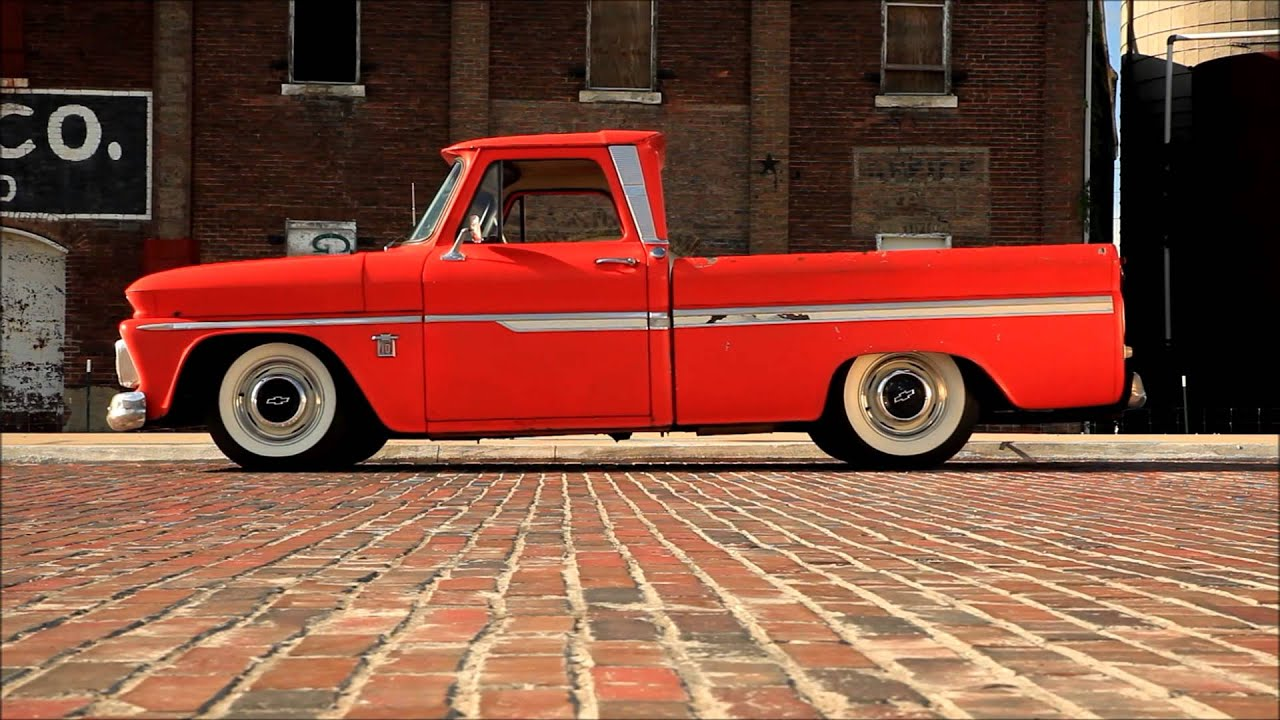 1964 C10 Chevy Shop Hot Rat Rod Truck, Patina, Air Ride Bagged ...