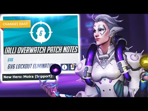 OVERWATCH'S HUGE UPDATE! NEW ARCADE AND MOIRA IS HERE!
