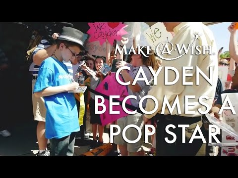 Wish Granted: Cayden Becomes a Popstar