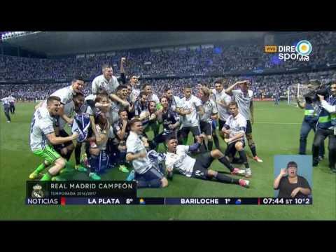 Real Madrid se quedó con la Liga española
