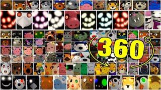 ROBLOX PIGGY 2 ALL JUMPSCARES 360