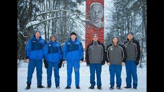 Торжественные проводы основного и дублирующего экипажей МКС-54/55 на космодром Байконур