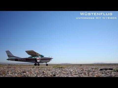 Wüstenflug - Unterwegs mit N1940X [German Version]