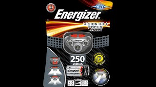 Energizer Vision HD Focus 250 Lumen Headlamp
