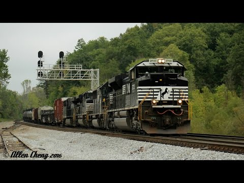 An Awesome Train Watching Trip in the Southeast - Day 3: CNO&TP in Tennessee (9/30/2016)