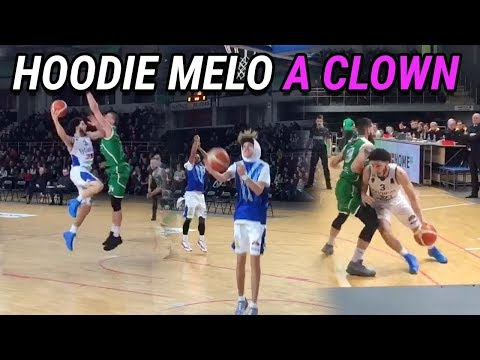 LaMelo Ball Gets HILARIOUS In Warmups! Gelo Scores 14 While Hoodie Melo SITS 😂