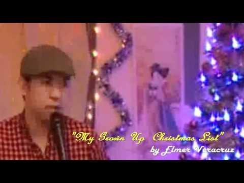 Grown Up Christmas List / Charice / Michael Buble - Instrumental / Videoke