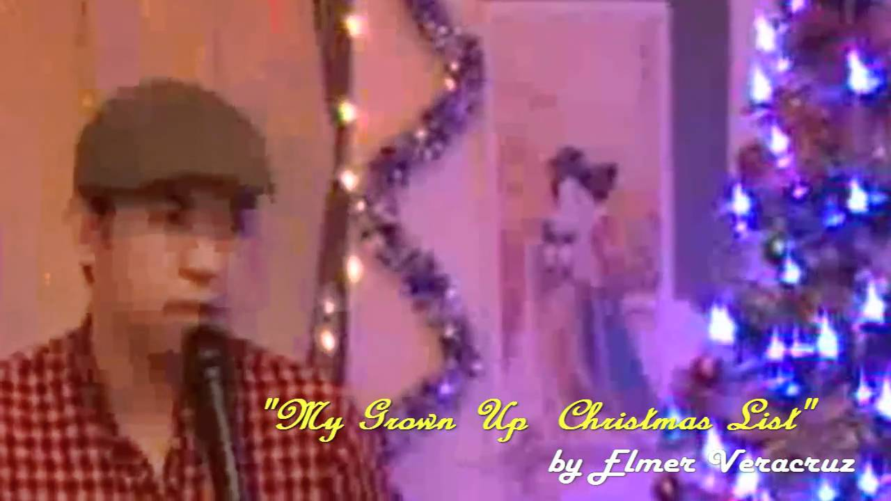 Grown Up Christmas List / Charice / Michael Buble - Instrumental ...
