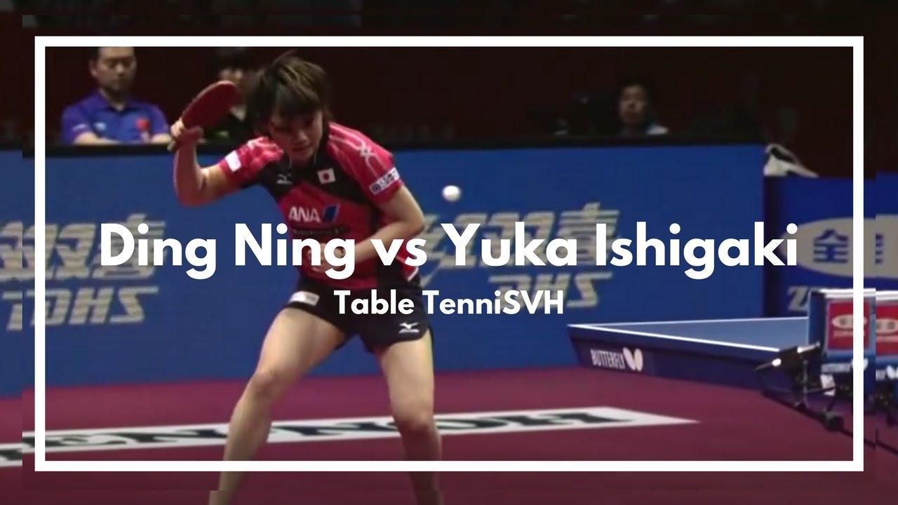 Yuka ishigaki vs ding ning zen noh 2014 world team table - Table tennis world championship 2014 ...