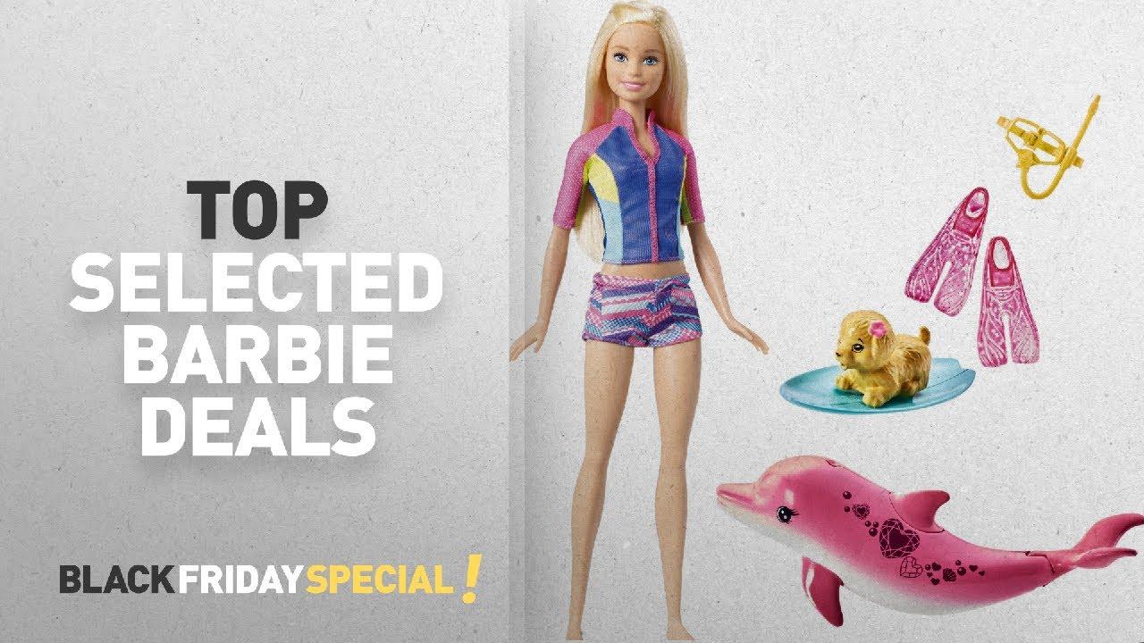 Top 10 Black Friday Barbie Deals Barbie Fbd63 Dolphin Magic Snorkel Fun Friends Doll Youtube