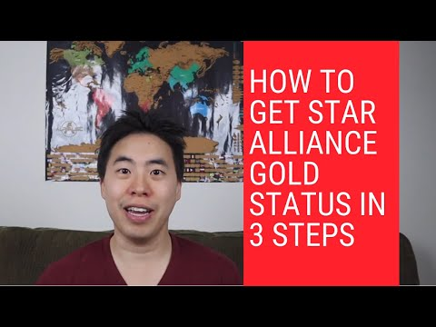 How To Get Star Alliance Gold Status in 3 Steps
