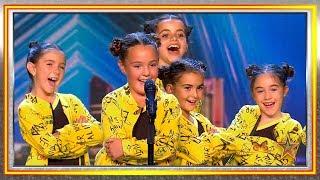 Estas niñas enseñan a Paz Padilla a bailar urbano. ¡Oh, sí! | Audiciones 8 | Got Talent España 2019