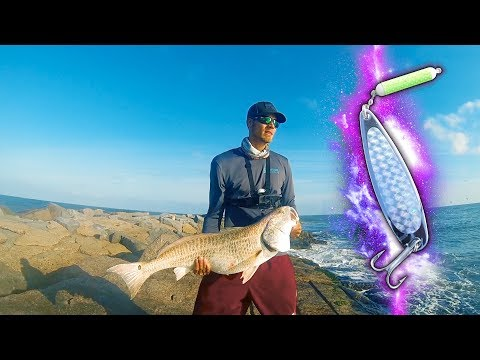 fishing spoon hack – jetty fishing for beasts