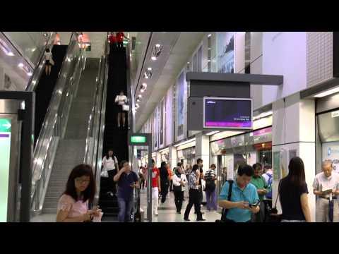 Dhoby Ghaut MRT station, Singapore