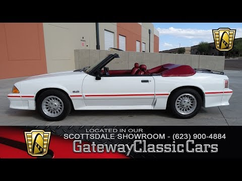 1990 Ford Mustang GT Gateway Classic Cars of Scottsdale #181 SCT